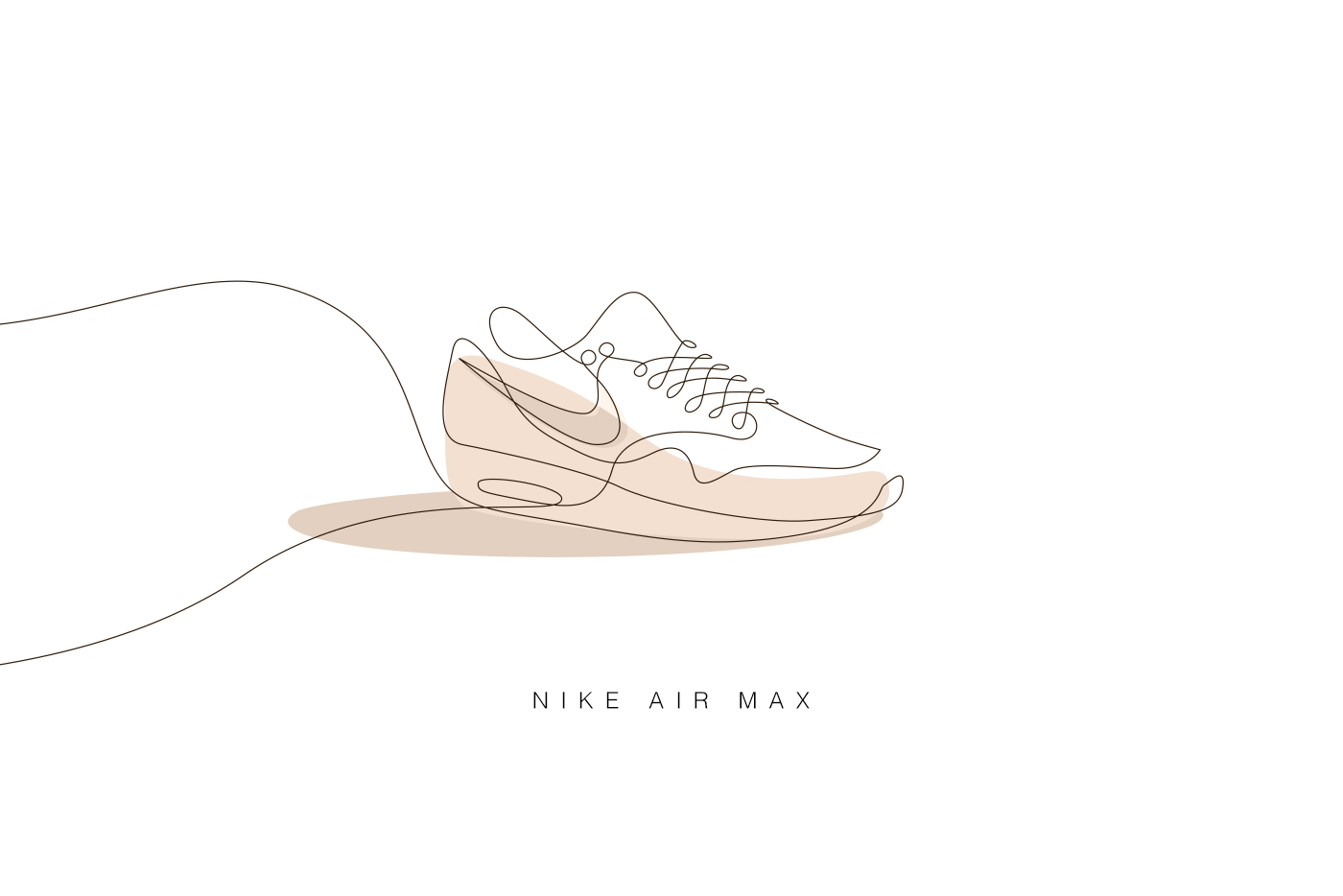 Line Art Studio Karawaci : Differantly studios one line sneaker drawings hypebeast