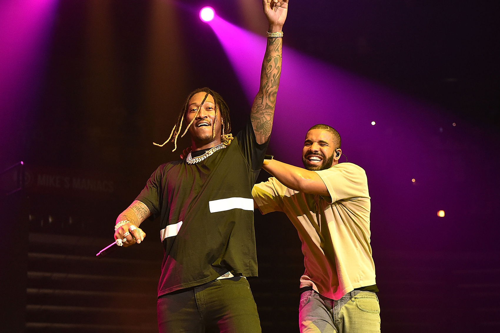 Drake & Future Perform at the Sweet 16 of Floyd Mayweather's Daughter