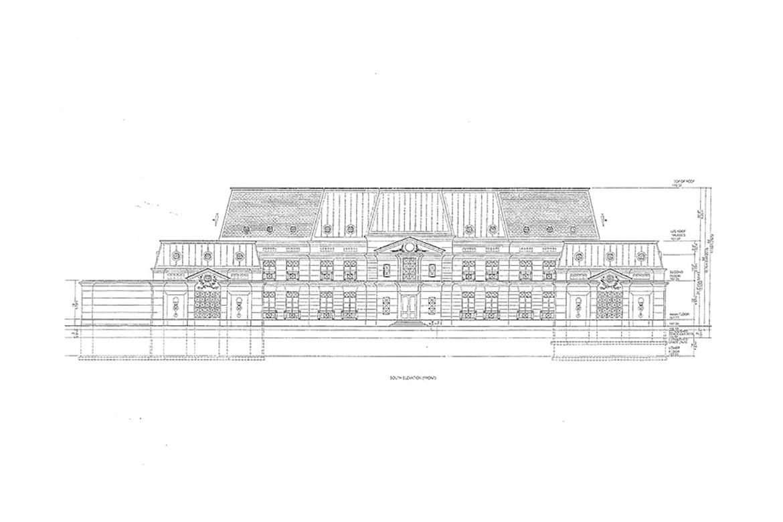 Drake 39 s toronto mansion plans hypebeast for Toronto house plans