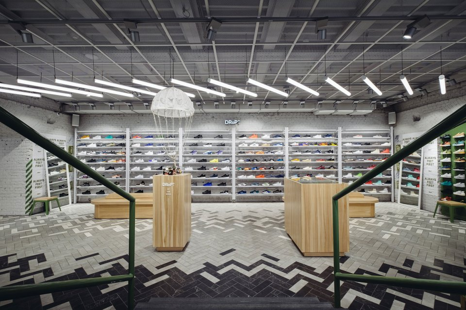 Drop Moscow Russia Sneaker Store Hypebeast