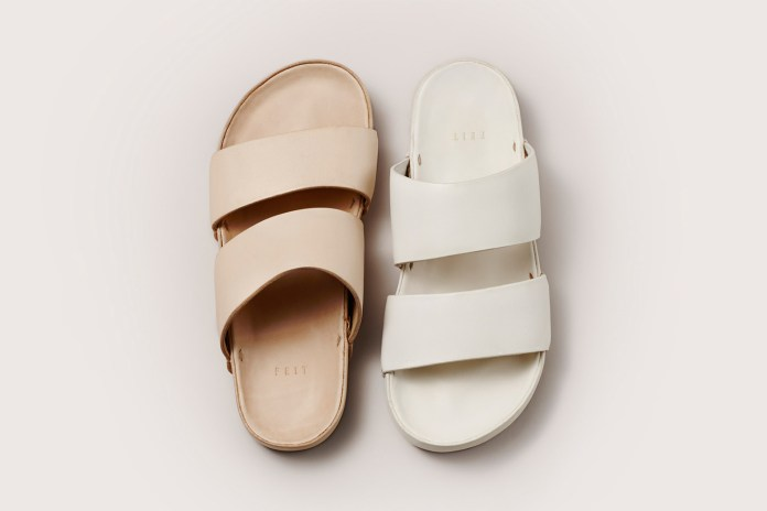 FEIT Updates Its Hand-Molded Leather Sandal