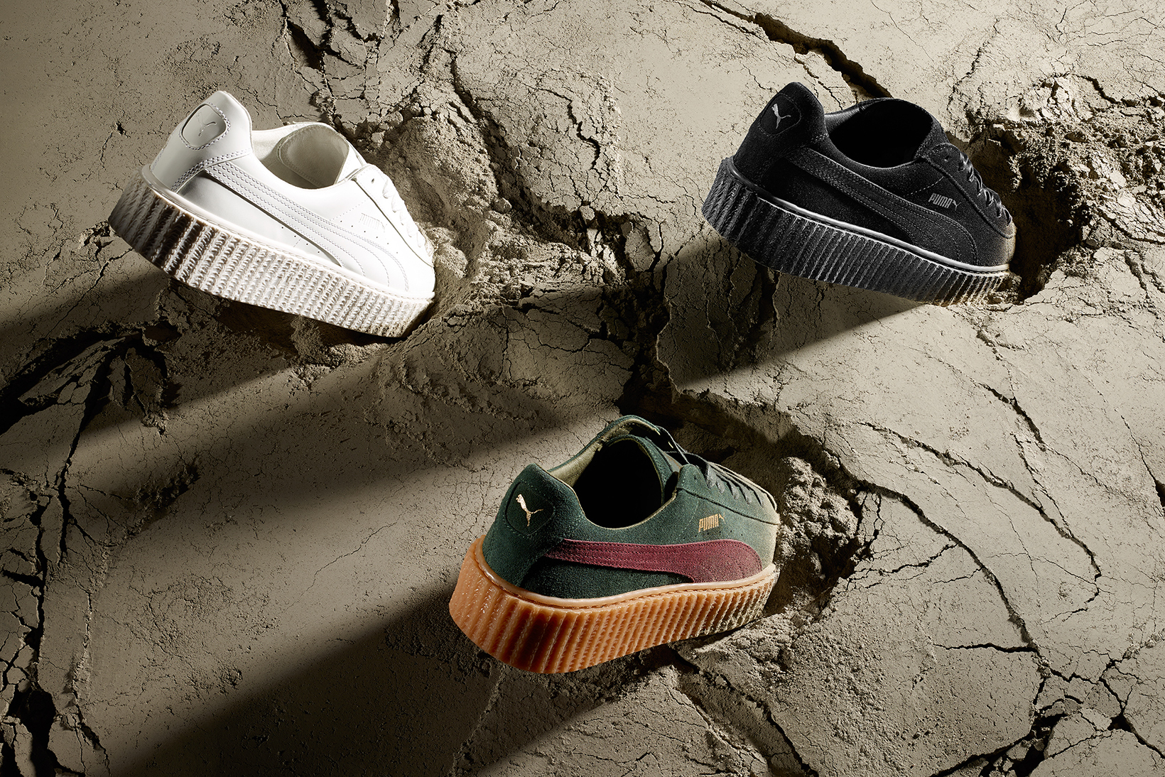 PUMA Reveals New Additions to Fenty PUMA by Rihanna Creeper Collection
