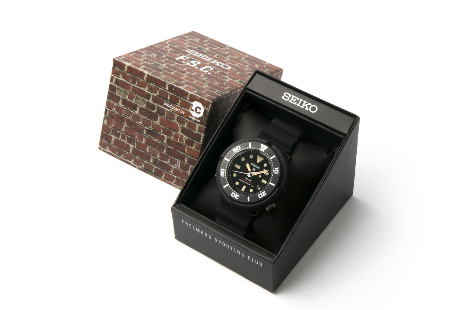 Freemans Sporting Club & Lowercase Help Deliver a Special Seiko Timepiece