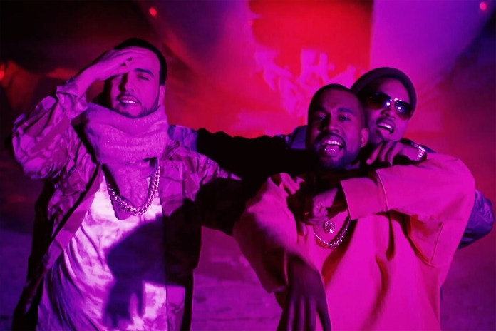 """Kanye West, Nas & French Montana Team up to Deliver Visuals For """"Figure It Out"""""""