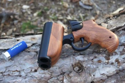 Up Your Paintball Game With the Goblin Deuce Double-Barrel Pistol