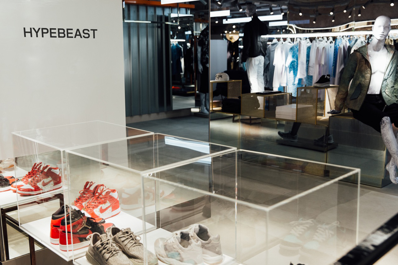 Do Remember to Check out the HYPEBEAST Installations at Harvey Nichols