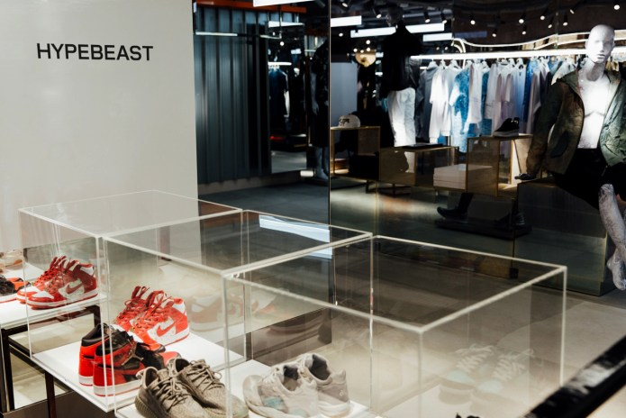 """We're Teaming up With London's Harvey Nichols to Launch """"HYPEBEAST Kicks"""""""