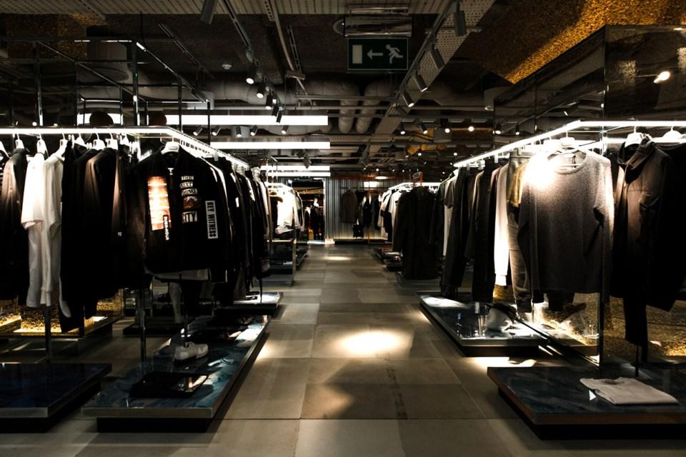 HYPEBEAST SPACES: Harvey Nichols Refurbished Menswear Department