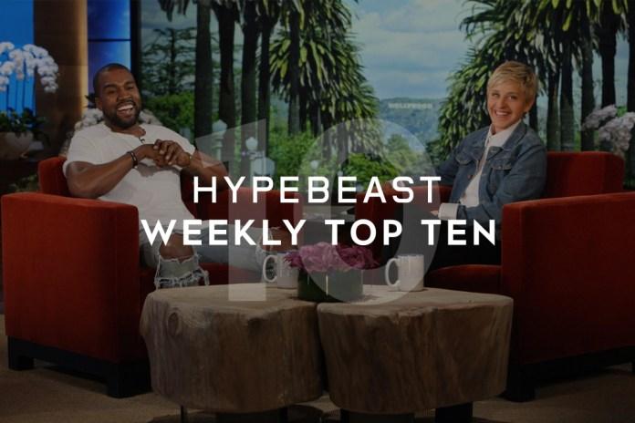 HYPEBEAST's Top 10 Posts of the Week