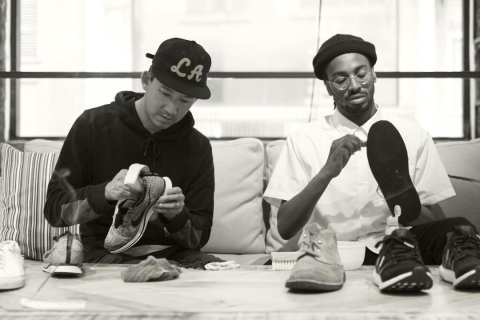 Jason Markk Shows Us How to Clean 4 Common Sneakers in 4 Minutes