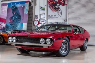 Joyride With Jay Leno in His Restored 1969 Lamborghini Espada