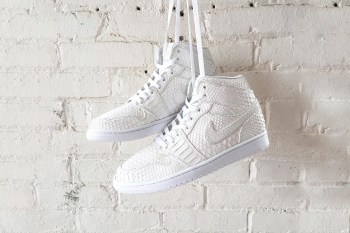 JBF Customs Creates the All-White Python Air Jordan 1s of Your Dreams