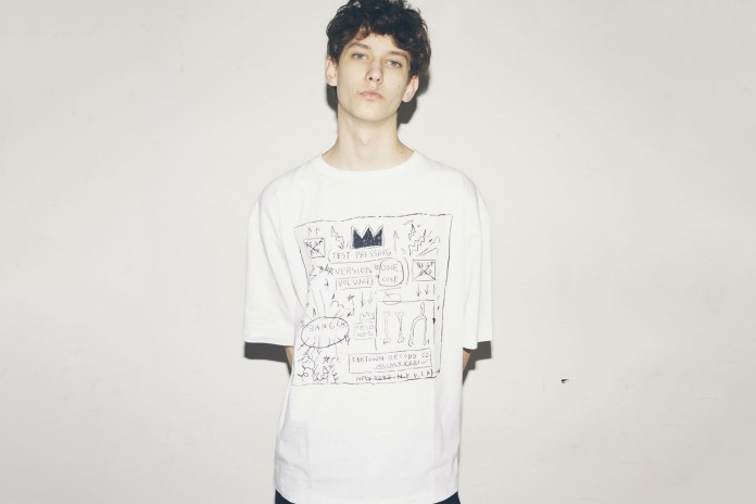 monkey time Honors Jean-Michel Basquiat in Its Latest Collection