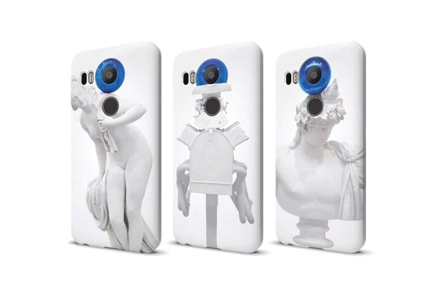 Jeff Koons Designs Limited Edition Nexus Phone Cases