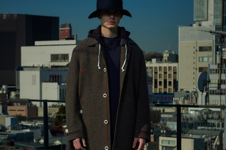 JohnUNDERCOVER 2016 Fall/Winter Lookbook