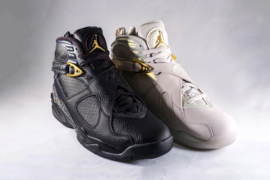 "A Detailed Look at the Air Jordan 8 ""Cigar & Champagne"" Pack"