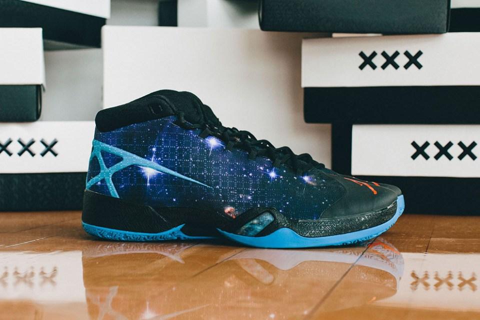 Air Jordan Okc Thunder San Antonio Spurs Playoff Xxx Pe