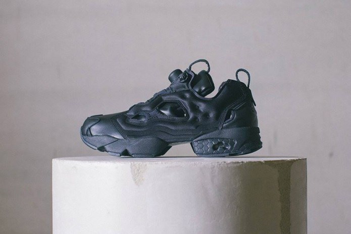 The Journal Standard x Reebok Instapump Fury Takes on a Sleek All-Black Aesthetic
