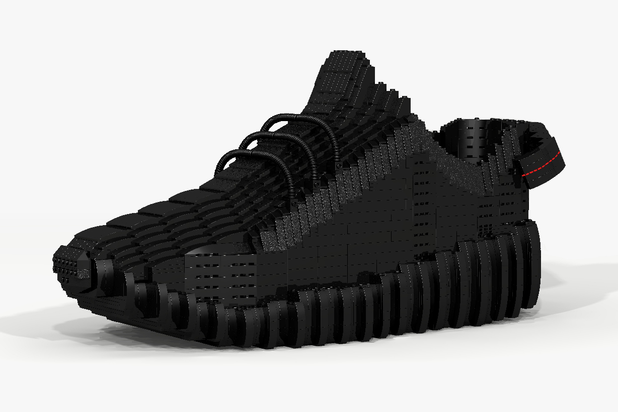 The Yeezy Boost 350 Gets the LEGO Treatment