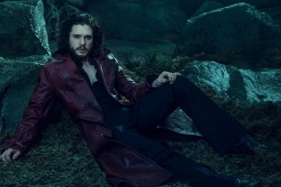 Kit Harington Poses for L'Uomo Vogue
