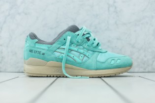 "KITH Just Dropped An Exclusive ""Cockatoo Green"" ASICS GEL-Lyte III"