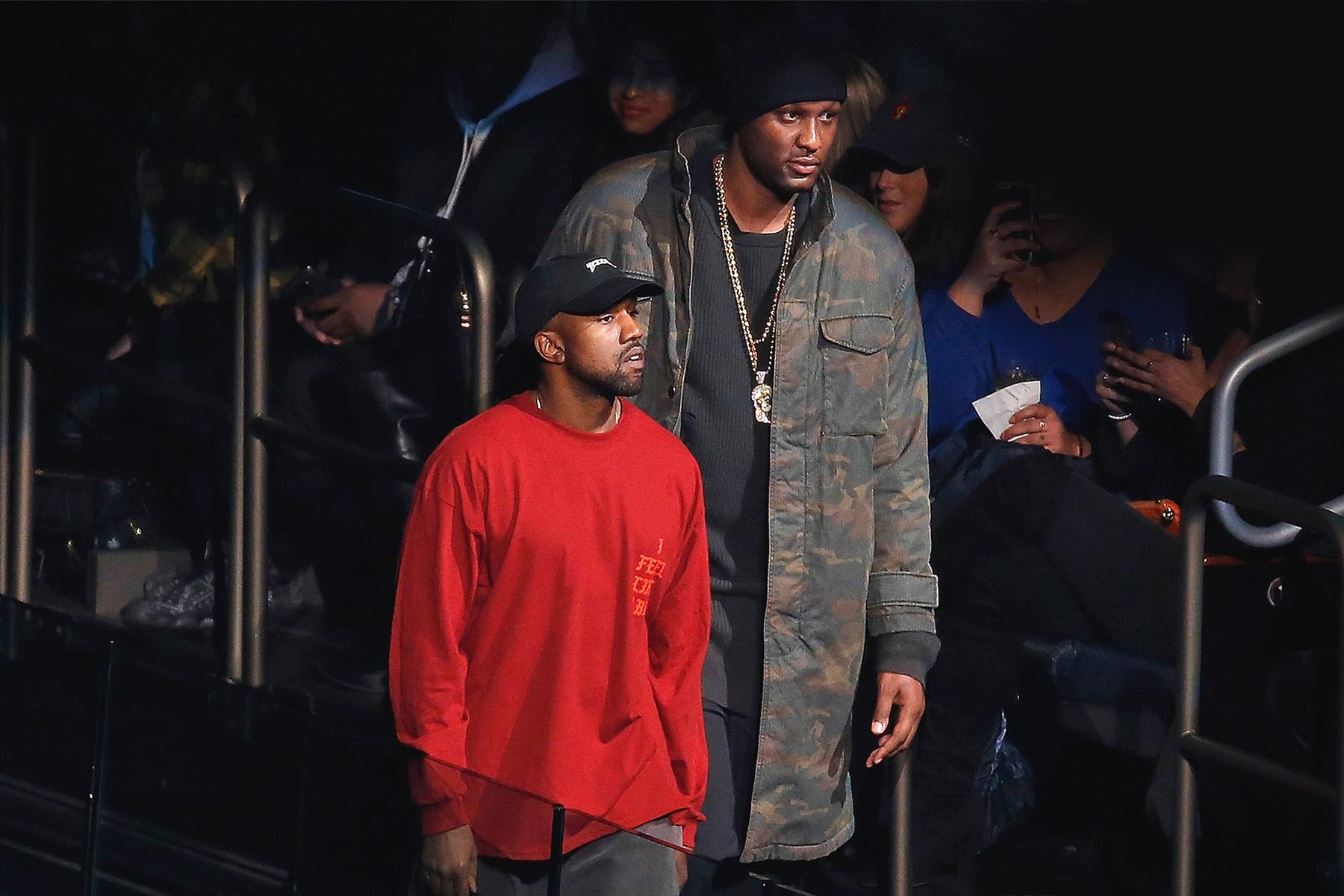 "Lamar Odom Thanks Kanye West's Music for ""Saving Him"""