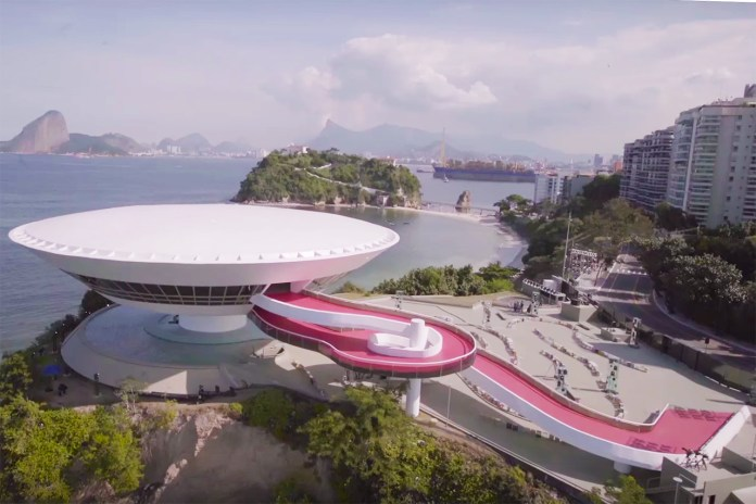 The Louis Vuitton Cruise Show Space in Rio de Janeiro Is One-of-a-Kind
