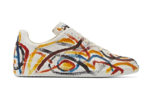 Maison Margiela Covers the Replica Sneaker in Multicolor Chalk