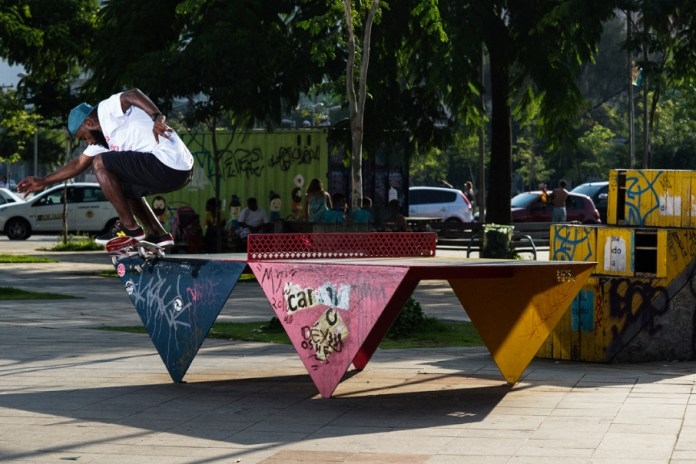 "Marquise Henry Wrecks Ledges Worldwide in His New ""Never Stop Moving"" Part"