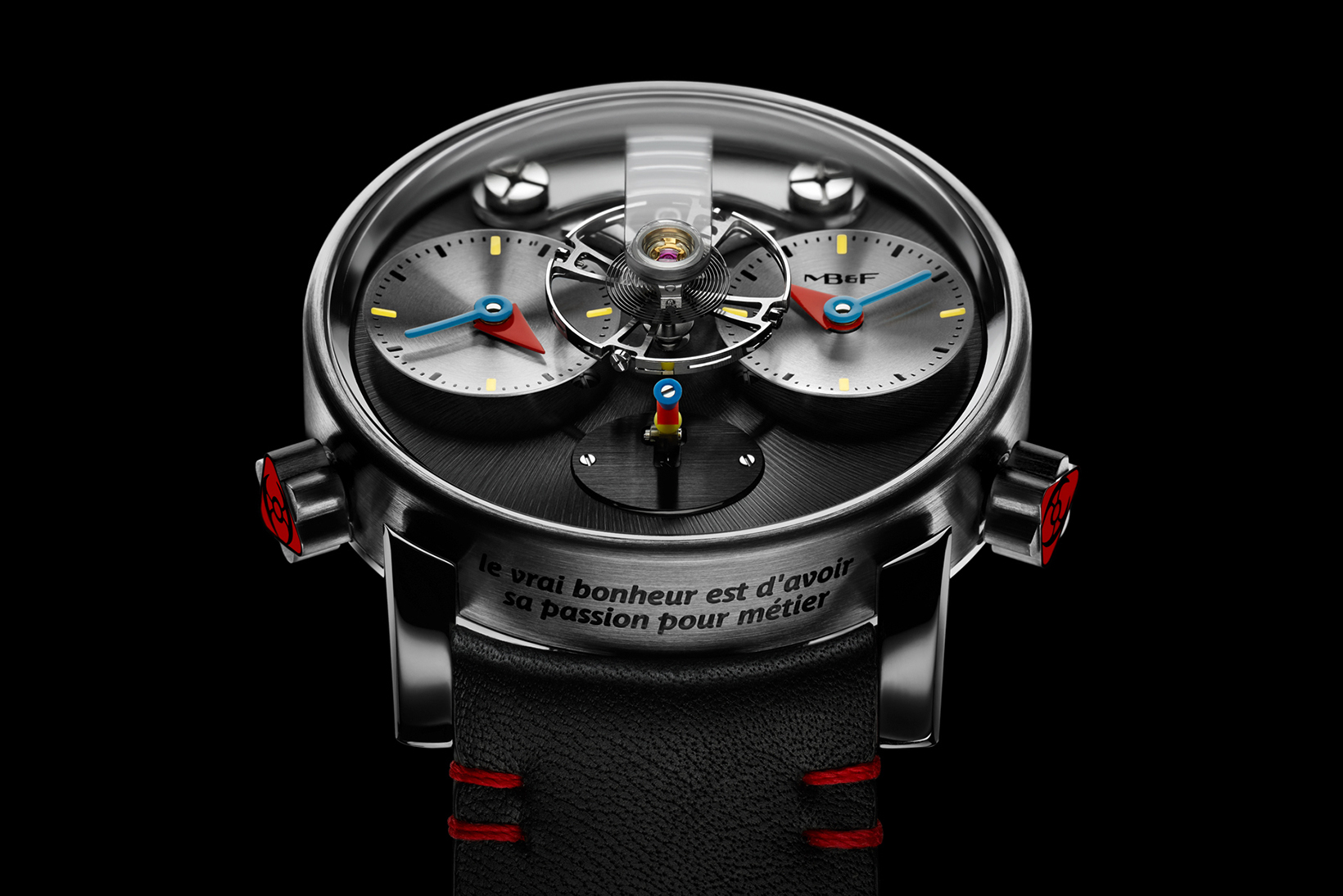 LM1 Silberstein Combines Chic Elegance With a Hint of Pop Art Styling