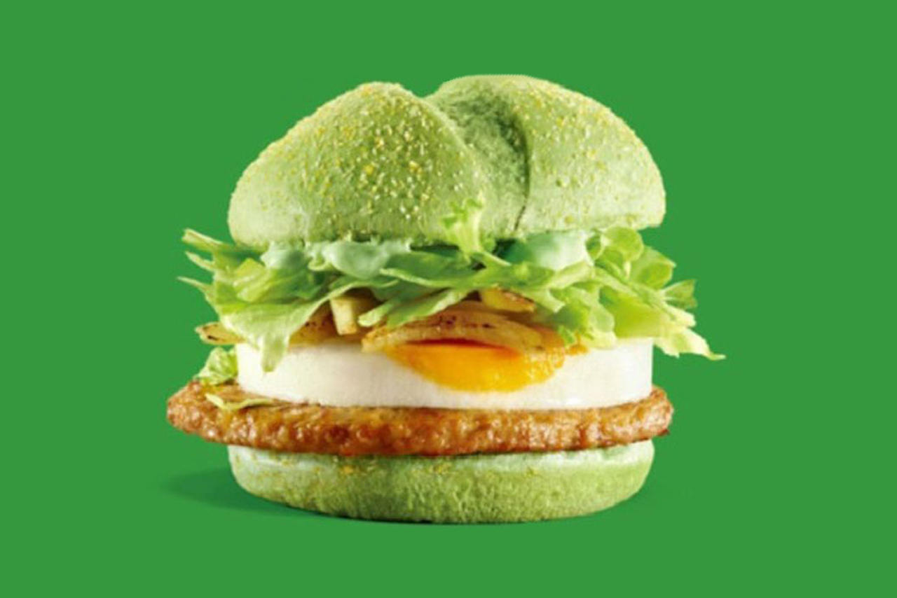 McDonald's Unveils Scarily Green 'Angry Birds' Burger in China