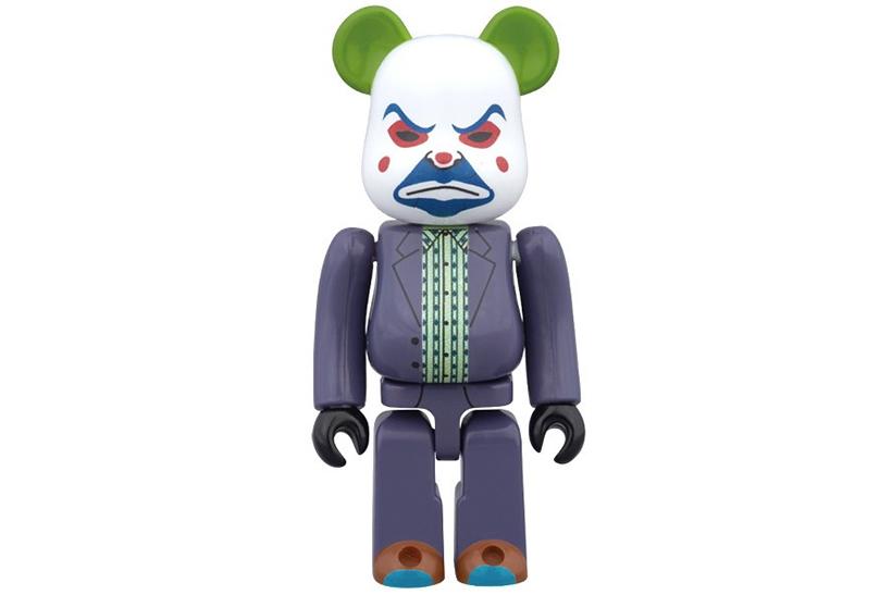 Medicom Toy Gives Bearbricks a Joker Makeover
