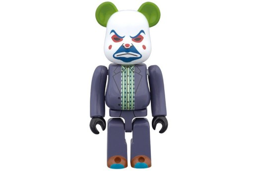 Medicom Toy Gives Bearbricks a Joker Makeover