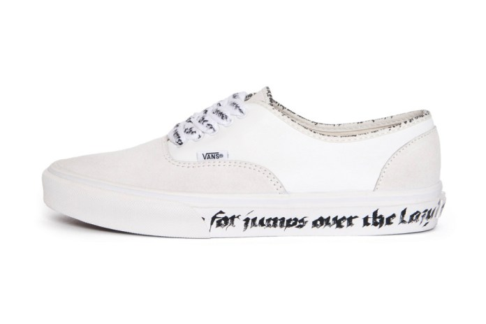 N.HOOLYWOOD Puts Its Spin on the Vans Authentic