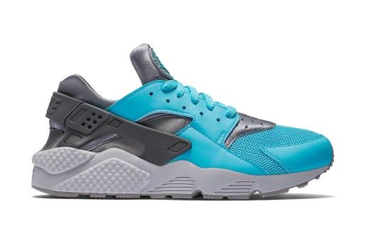 "The Nike Air Huarache Goes ""Beta Blue"" For the Summer"