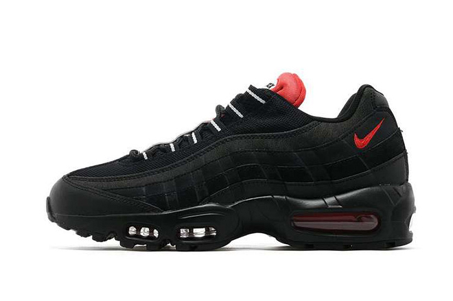 """Nike Gives the Roadman Classic Air Max 95 a """"Bred"""" Makeover"""
