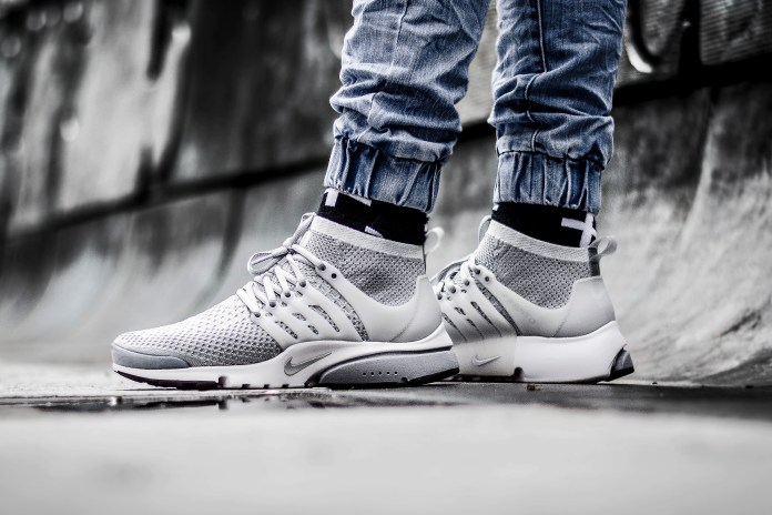 "Nike Air Presto Ultra Flyknit ""Wolf Grey"""
