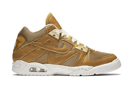 Nike Drops a Gold-Themed Air Tech Challenge III For Wimbledon