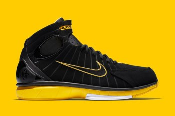 "Nike Basketball Innovation Returns With Air Zoom Huarache 2K4 ""Yellow Maize"" Retro"