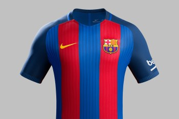Nike Unveils FC Barcelona's 2016-17 Home Kit