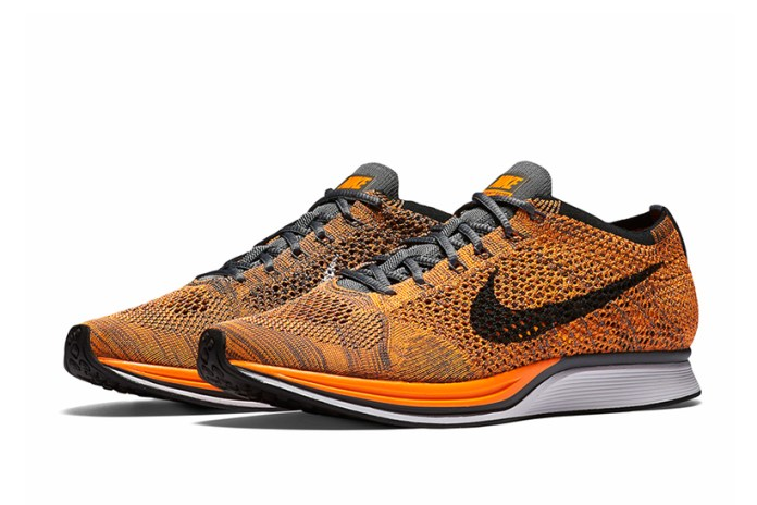 Nike Revisits the Flyknit Racer in Total Orange