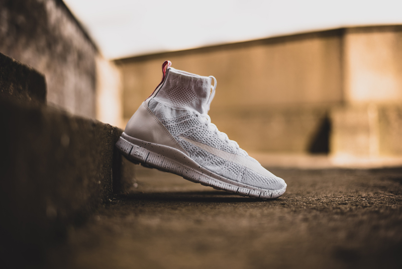 A Closer Look at the Nike Free Flyknit Mercurial In White
