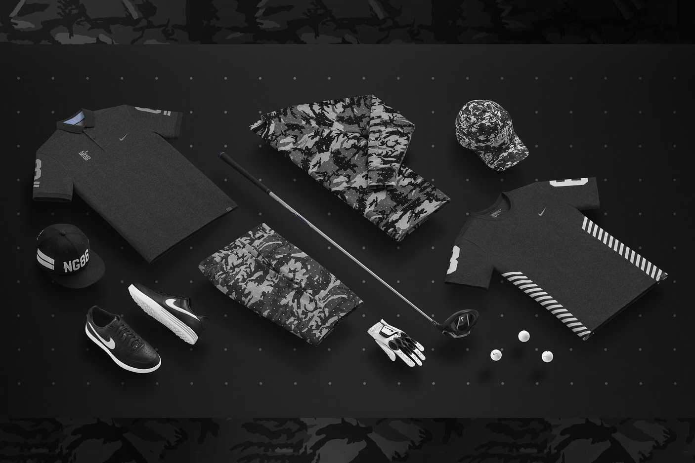 Nike Golf Celebrates Its 30th Anniversary With a Military-Inspired Apparel Range