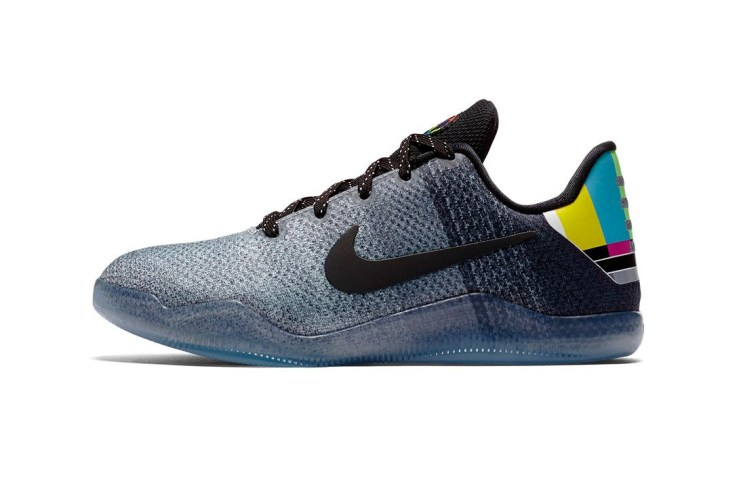 "#hypebeastkids: Nike Kobe 11 ""Wolf Grey"" Inspired by VHS Color Bars"