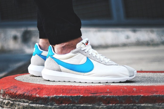 Nike Roshe LD-1000 Summit White/Blue Glow-White-Safety Orange