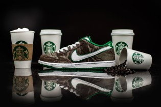 Nike SB Pays Tribute to Starbucks With the Dunk Low Premium