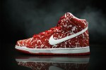 "Picture of Nike SB Dunk High Gets A ""Raw Meat"" Treatment"