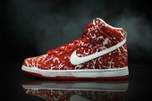 "Nike SB Dunk High Gets a ""Raw Meat"" Treatment"