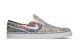 Nike SB Gives the Stefan Janoski Slip-On a Watercolor Upper
