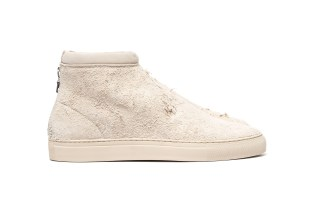 "nonnative Traveller Trainer Mid Cow Suede ""White"" & ""Brown"""